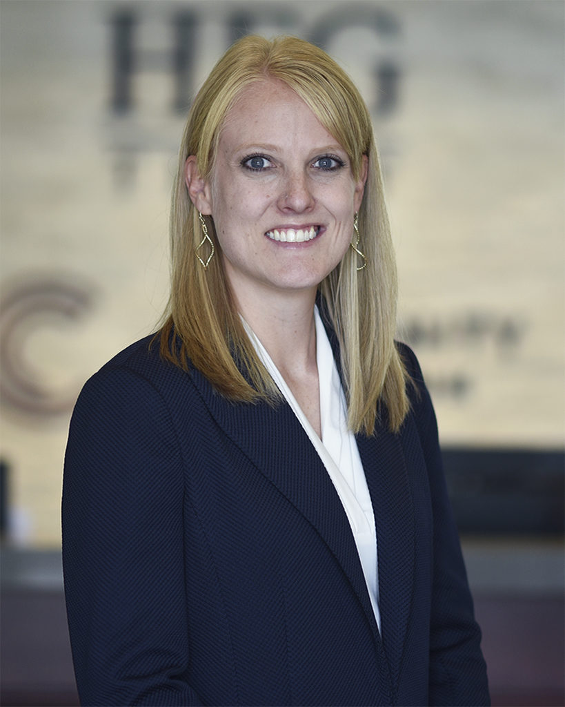Megan Nichols CFP is a Financial Advisor at Community First Bank and HFG Trust in Kennewick, Washington.