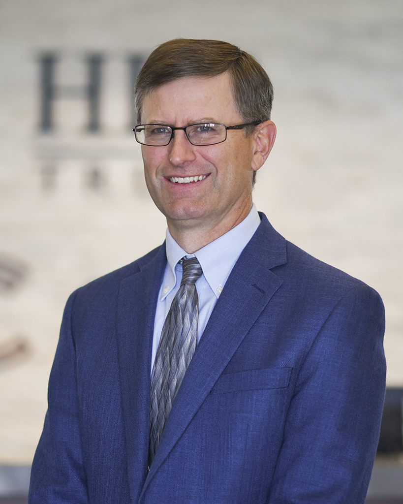 A picture of Michael Tallman, the Senior Trust Officer at Community First Bank and HFG Trust in Kennewick, Washington.